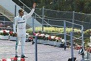 Podium - Formel 1 2017, Italien GP, Monza, Bild: Mercedes-Benz