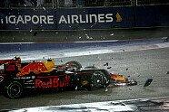 Startunfall - Formel 1 2017, Singapur GP, Singapur, Bild: Sutton
