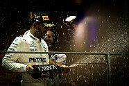 Podium - Formel 1 2017, Singapur GP, Singapur, Bild: Sutton