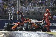 Startunfall - Formel 1 2017, Singapur GP, Singapur, Bild: LAT Images
