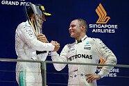 Podium - Formel 1 2017, Singapur GP, Singapur, Bild: Mercedes-Benz