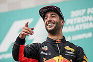 Podium - Formel 1 2017, Malaysia GP, Sepang, Bild: LAT Images