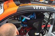 Fabian Vettel testet Porsche in Hockenheim - Carrera Cup 2017, Testfahrten, Bild: Huber Racing