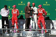 Podium - Formel 1 2017, USA GP, Austin, Bild: Sutton