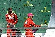 Podium - Formel 1 2017, USA GP, Austin, Bild: Ferrari