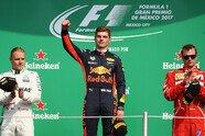 Podium - Formel 1 2017, Mexiko GP, Mexico City, Bild: Red Bull