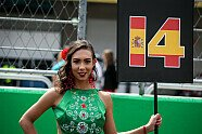 Girls - Formel 1 2017, Mexiko GP, Mexico City, Bild: Sutton