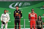 Podium - Formel 1 2017, Mexiko GP, Mexico City, Bild: Sutton