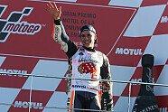 So feiert Marc Marquez seinen MotoGP-Titelgewinn 2017 - MotoGP 2017, Valencia GP, Valencia, Bild: Repsol
