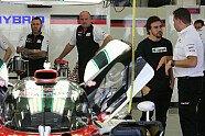 Alonso beim Rookie-Test - WEC 2017, Testfahrten, 6 Stunden von Bahrain, Manama, Bild: Sutton
