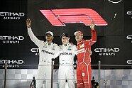 Podium - Formel 1 2017, Abu Dhabi GP, Abu Dhabi, Bild: LAT Images