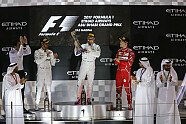 Podium - Formel 1 2017, Abu Dhabi GP, Abu Dhabi, Bild: Sutton