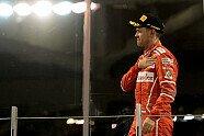 Podium - Formel 1 2017, Abu Dhabi GP, Abu Dhabi, Bild: Ferrari