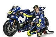 Yamaha: Rossi und Vinales in den Farben für die MotoGP 2018 - MotoGP 2018, Präsentationen, Bild: Yamaha