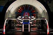 Formel-E-Auto im schönsten Windkanal der Welt - Formel E 2018, Verschiedenes, Bild: Mahindra/Spacesuit