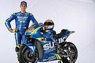 Suzukis MotoGP-Bike für die Saison 2018 - MotoGP 2018, Präsentationen, Bild: Suzuki
