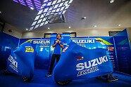 Suzukis MotoGP-Bike für die Saison 2018 - MotoGP 2018, Präsentationen, Bild: gp-photo.de/Ronny Lekl