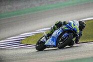 MotoGP-Testfahrten Katar 2018 - Donnerstag - MotoGP 2018, Testfahrten, Losail, Losail, Bild: Suzuki