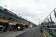 Australien GP: Letzte Arbeiten in Melbourne - Formel 1 2018, Australien GP, Melbourne, Bild: Sutton