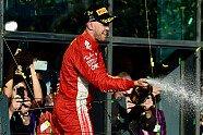 Podium - Formel 1 2018, Australien GP, Melbourne, Bild: Sutton