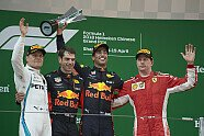 Podium - Formel 1 2018, China GP, Shanghai, Bild: Mercedes-Benz