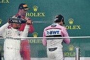 Podium - Formel 1 2018, Aserbaidschan GP, Baku, Bild: Sutton