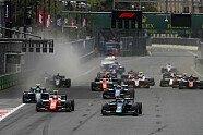 Rennen 3 & 4 - Formel 2 2018, Aserbaidschan, Baku, Bild: Sutton