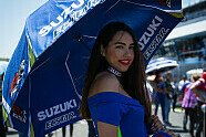 MotoGP Jerez 2018: Grid-Girls beim Spanien-GP - MotoGP 2018, Spanien GP, Jerez de la Frontera, Bild: Tobias Linke