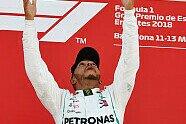 Podium - Formel 1 2018, Spanien GP, Barcelona, Bild: Sutton