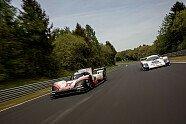 Porsche-Legenden unter sich: 956C & 919 Hybrid Evo im Duett - 24 h Nürburgring 2018, Verschiedenes, Bild: Porsche