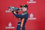 Podium - Formel 1 2018, Spanien GP, Barcelona, Bild: Red Bull