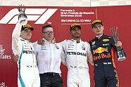 Podium - Formel 1 2018, Spanien GP, Barcelona, Bild: Mercedes-Benz