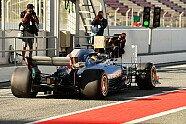 Formel 1, Testfahrten Barcelona: Mercedes mit Leuchten am Heckflügel - Formel 1 2018, Testfahrten, Barcelona III, Barcelona, Bild: Sutton
