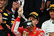 Podium - Formel 1 2018, Monaco GP, Monaco, Bild: Sutton