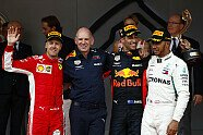 Podium - Formel 1 2018, Monaco GP, Monaco, Bild: LAT Images