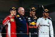 Podium - Formel 1 2018, Monaco GP, Monaco, Bild: Ferrari