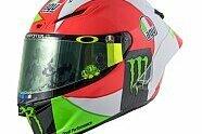 MotoGP: Valentino Rossis Helm für Mugello 2018 - MotoGP 2018, Italien GP, Mugello, Bild: AGV