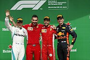 Podium - Formel 1 2018, Kanada GP, Montreal, Bild: LAT Images