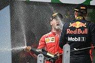 Podium - Formel 1 2018, Kanada GP, Montreal, Bild: Sutton