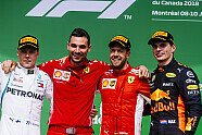 Podium - Formel 1 2018, Kanada GP, Montreal, Bild: Ferrari