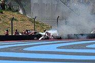 Feuer-Unfall Marcus Ericsson - Formel 1 2018, Frankreich GP, Le Castellet, Bild: LAT Images