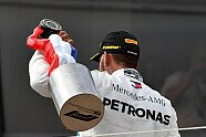Podium - Formel 1 2018, Frankreich GP, Le Castellet, Bild: Sutton
