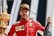 Podium - Formel 1 2018, Großbritannien GP, Silverstone, Bild: LAT Images