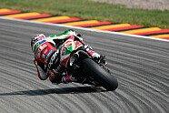 MotoGP Sachsenring 2018: Die Bilder vom Samstag - MotoGP 2018, Deutschland GP, Hohenstein-Ernstthal, Bild: Aprilia