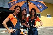 Grid Girls vom Sachsenring - MotoGP 2018, Deutschland GP, Hohenstein-Ernstthal, Bild: Tobias Linke