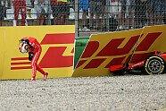 Vettel-Unfall - Formel 1 2018, Deutschland GP, Hockenheim, Bild: Sutton