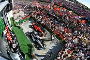 Podium - Formel 1 2018, Ungarn GP, Budapest, Bild: Sutton
