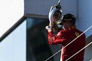 Podium - Formel 1 2018, Ungarn GP, Budapest, Bild: Ferrari