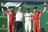 Podium - Formel 1 2018, Ungarn GP, Budapest, Bild: Mercedes-Benz