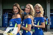 Grid Girls beim Tschechien-GP - MotoGP 2018, Tschechien GP, Brünn, Bild: Tobias Linke